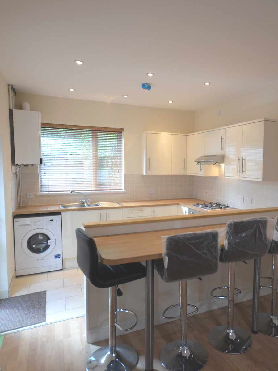 New open plan kitchen